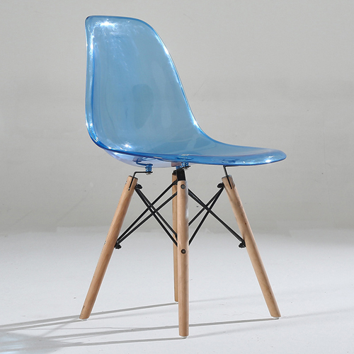 Crystal Dowel Base Chair