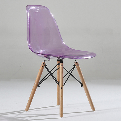 Crystal Dowel Base Chair Image 6