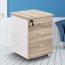 Melamine 3 Drawer Chest With Lock Image 5