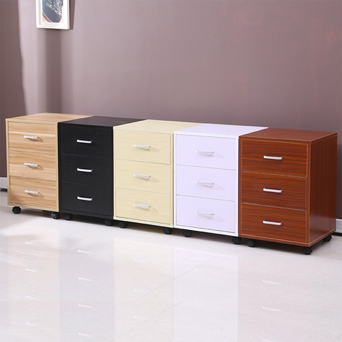 Contemporary Drawer Mobile Cabinet Image 6