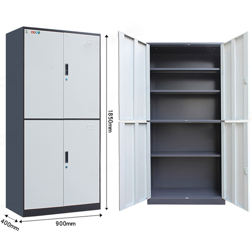 Zilch Double Door Large Metal Cabinet