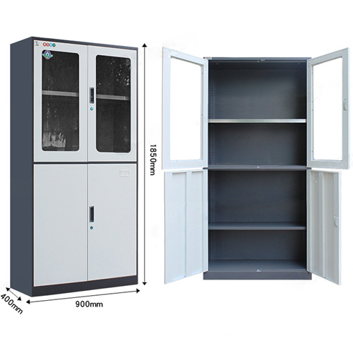 Metal Four Door Storage Cabinet