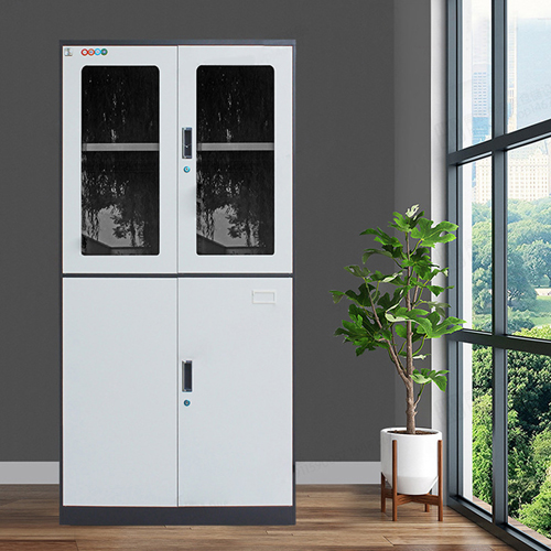 Metal Four Door Storage Cabinet Image 5