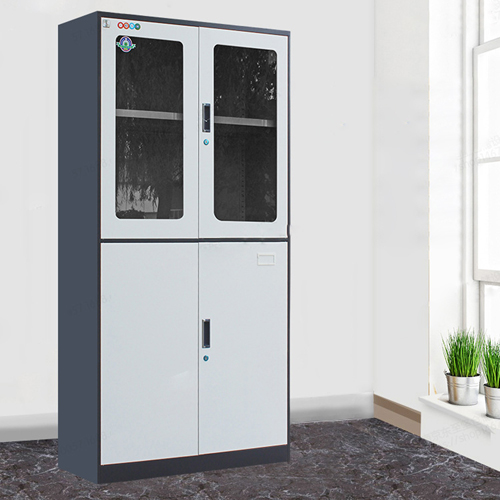 Metal Four Door Storage Cabinet Image 6