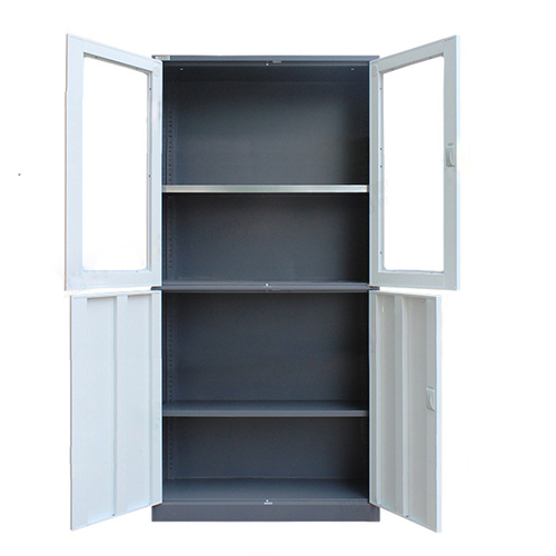 Metal Four Door Storage Cabinet Image 9