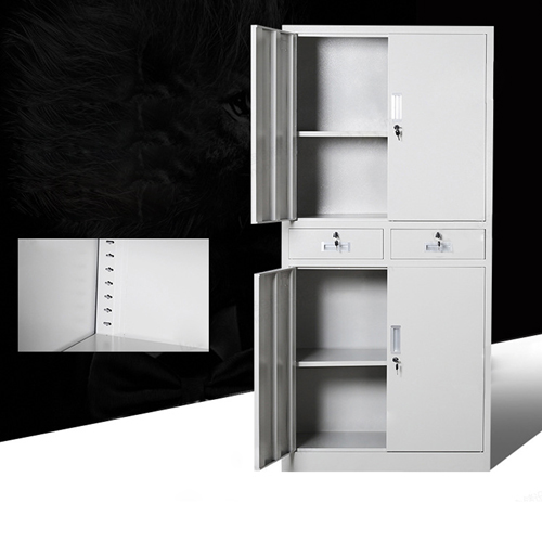 Zilla Metal Storage Cabinet With Lock Drawers Image 10