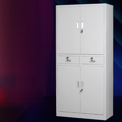 Zilla Metal Storage Cabinet With Lock Drawers Image 1