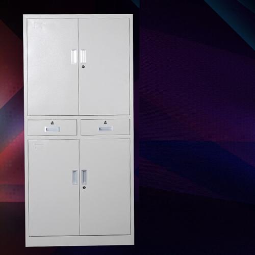 Zilla Metal Storage Cabinet With Lock Drawers Image 2