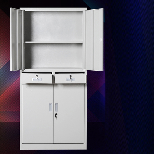 Zilla Metal Storage Cabinet With Lock Drawers Image 3