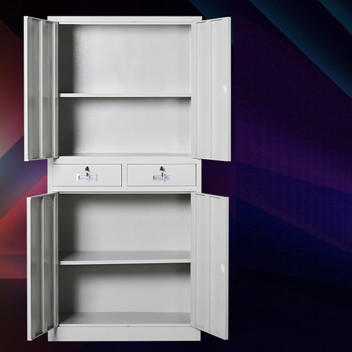 Zilla Metal Storage Cabinet With Lock Drawers Image 4