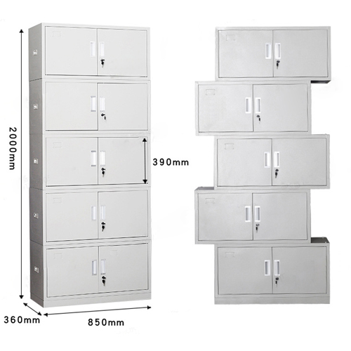 Yankee 5 Door Locker Metal Storage Cabinet
