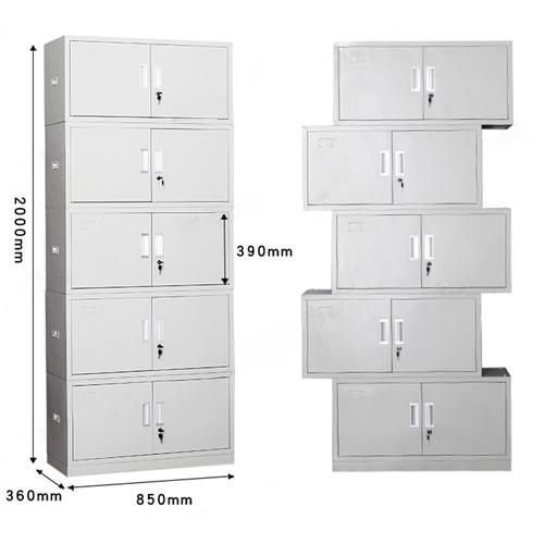Yankee 5 Door Locker Metal Storage Cabinet