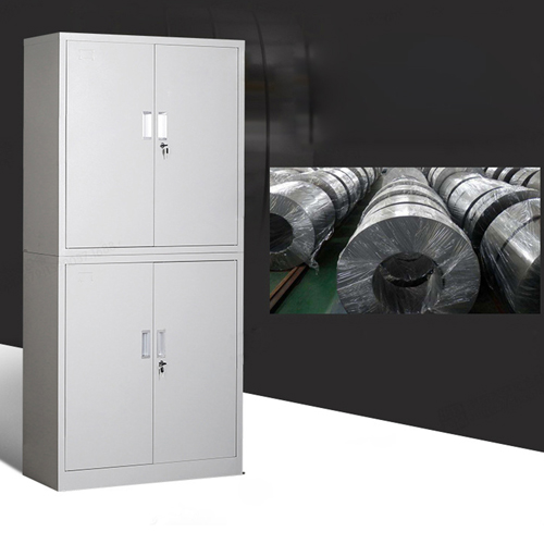 Multifunction 2 Layer Storage Metal Cabinet Image 10