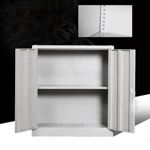 Multifunction 2 Layer Storage Metal Cabinet Image 11