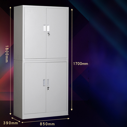 Multifunction 2 Layer Storage Metal Cabinet Image 15
