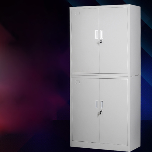 Multifunction 2 Layer Storage Metal Cabinet Image 1