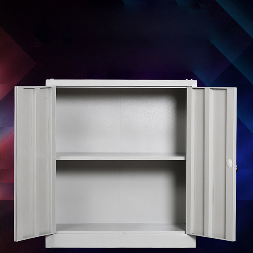 Multifunction 2 Layer Storage Metal Cabinet Image 4