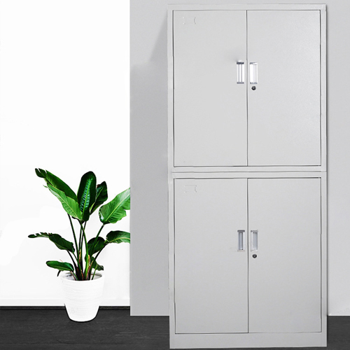 Multifunction 2 Layer Storage Metal Cabinet Image 6