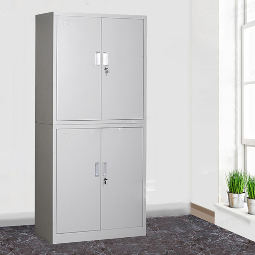 Multifunction 2 Layer Storage Metal Cabinet Image 7