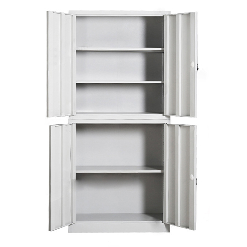 Multifunction 2 Layer Storage Metal Cabinet Image 8