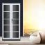 Steel Double Door Bookcase With Glass Door Image 6