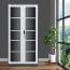 Steel Double Door Bookcase With Glass Door Image 7