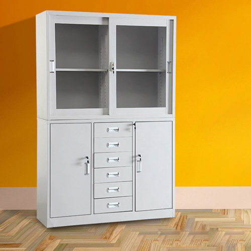 Metal Office Filing Document Cabinet Image 1