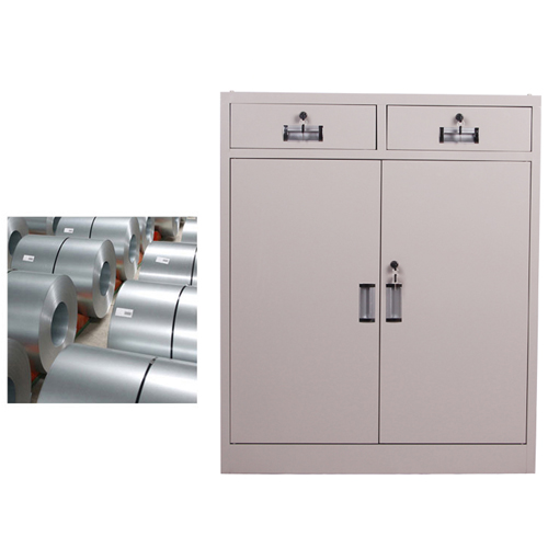 Steel Floor File Cabinet with Drawer Image 9