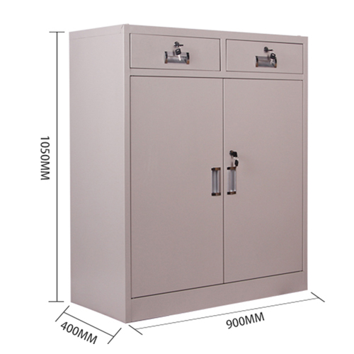 Steel Floor File Cabinet with Drawer Image 12