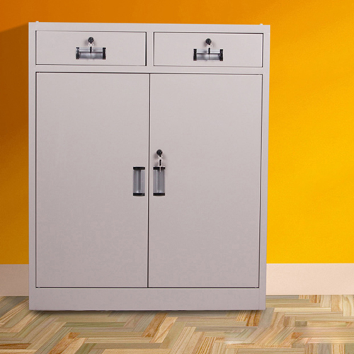 Steel Floor File Cabinet with Drawer Image 1