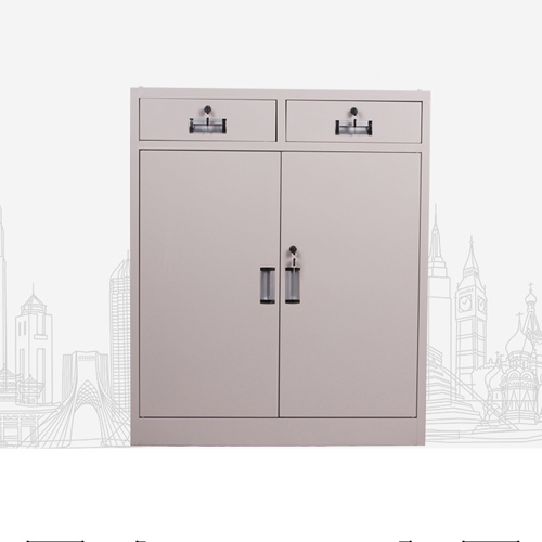 Steel Floor File Cabinet with Drawer Image 3