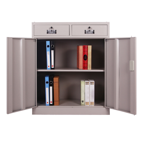 Steel Floor File Cabinet with Drawer Image 4