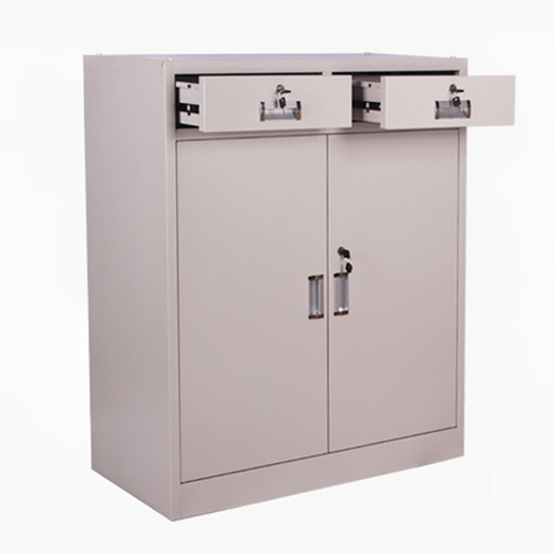 Steel Floor File Cabinet with Drawer Image 5