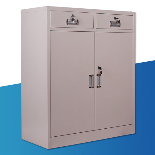 Steel Floor File Cabinet with Drawer Image 6