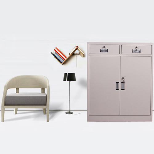 Steel Floor File Cabinet with Drawer Image 7