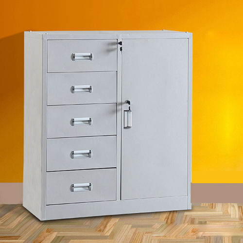 Single Side Door Steel Cabinet with Drawer