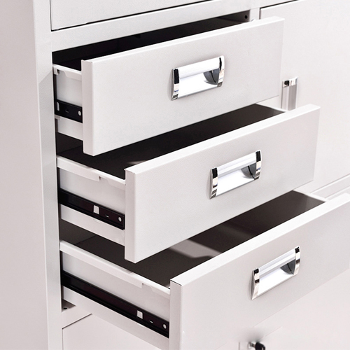 Single Side Door Steel Cabinet with Drawer Image 6