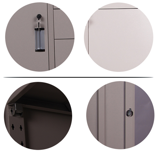 Single Side Door Steel Cabinet with Drawer Image 8
