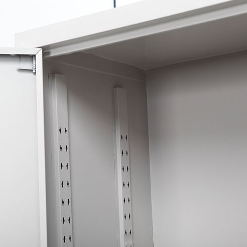 Four Door Adjustable Storage Cabinet Image 11