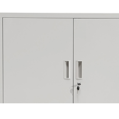 Four Door Adjustable Storage Cabinet Image 15