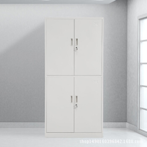 Four Door Adjustable Storage Cabinet Image 1