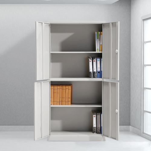 Four Door Adjustable Storage Cabinet Image 2