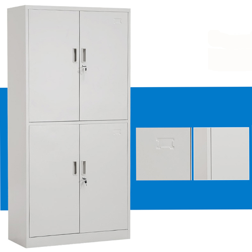 Four Door Adjustable Storage Cabinet Image 5