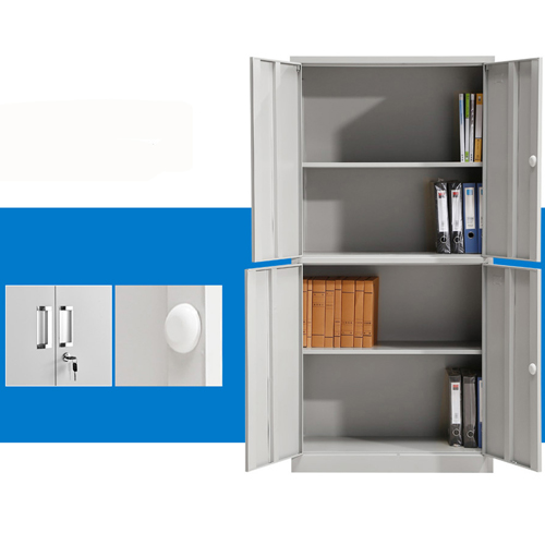 Four Door Adjustable Storage Cabinet Image 6
