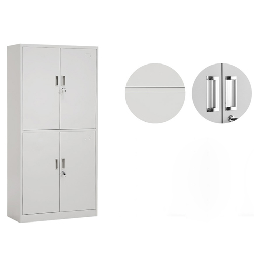 Four Door Adjustable Storage Cabinet Image 7