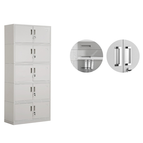 Split Five Steel Filing Cabinet Image 10