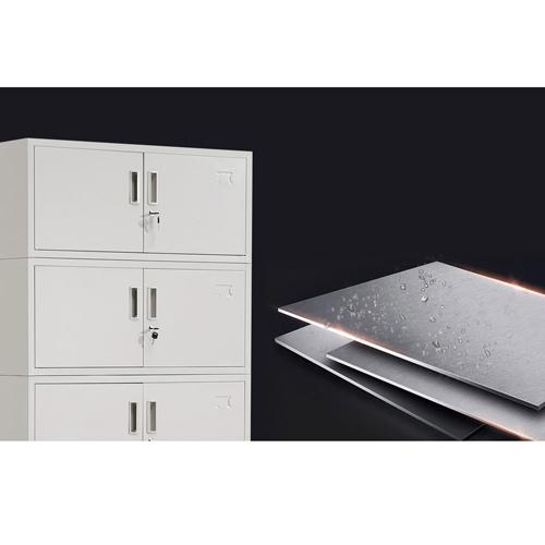 Split Five Steel Filing Cabinet Image 11
