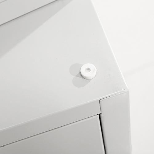 Split Five Steel Filing Cabinet Image 16