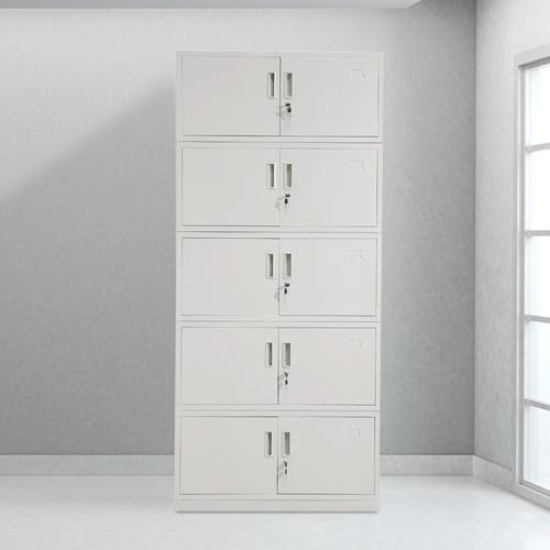Split Five Steel Filing Cabinet Image 1