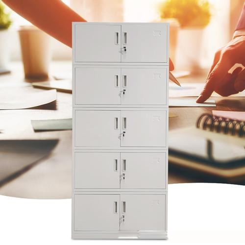 Split Five Steel Filing Cabinet Image 3